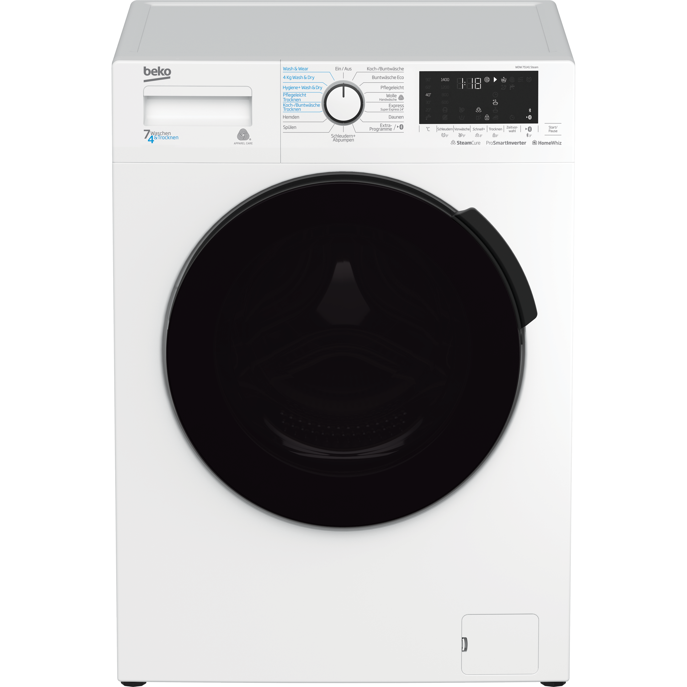 Beko WDW 75141 Steam 1
